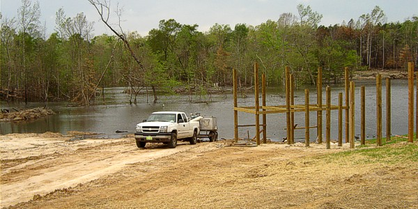 Pond and lake fish stocking for Bass pond construction